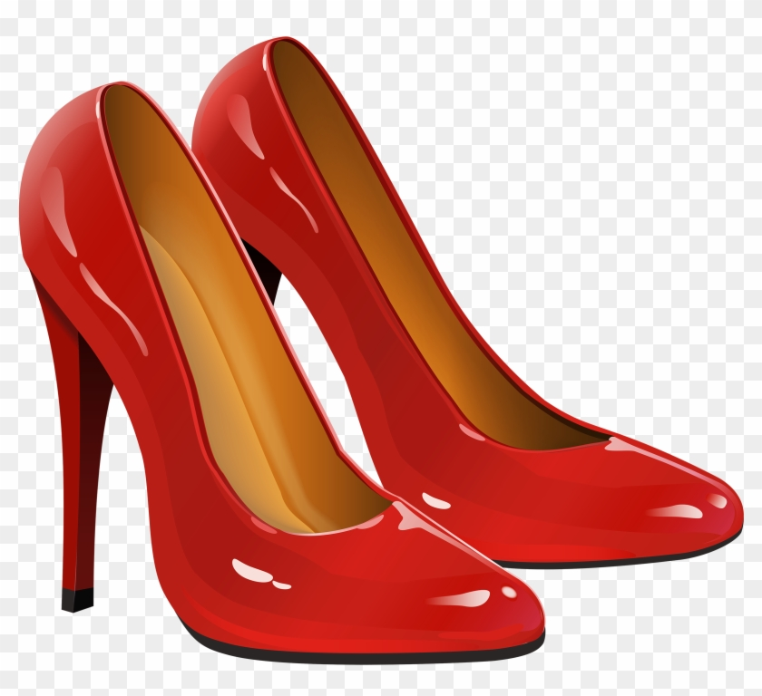 Dorothy Red Shoes Clipart - High Heels Png #110049