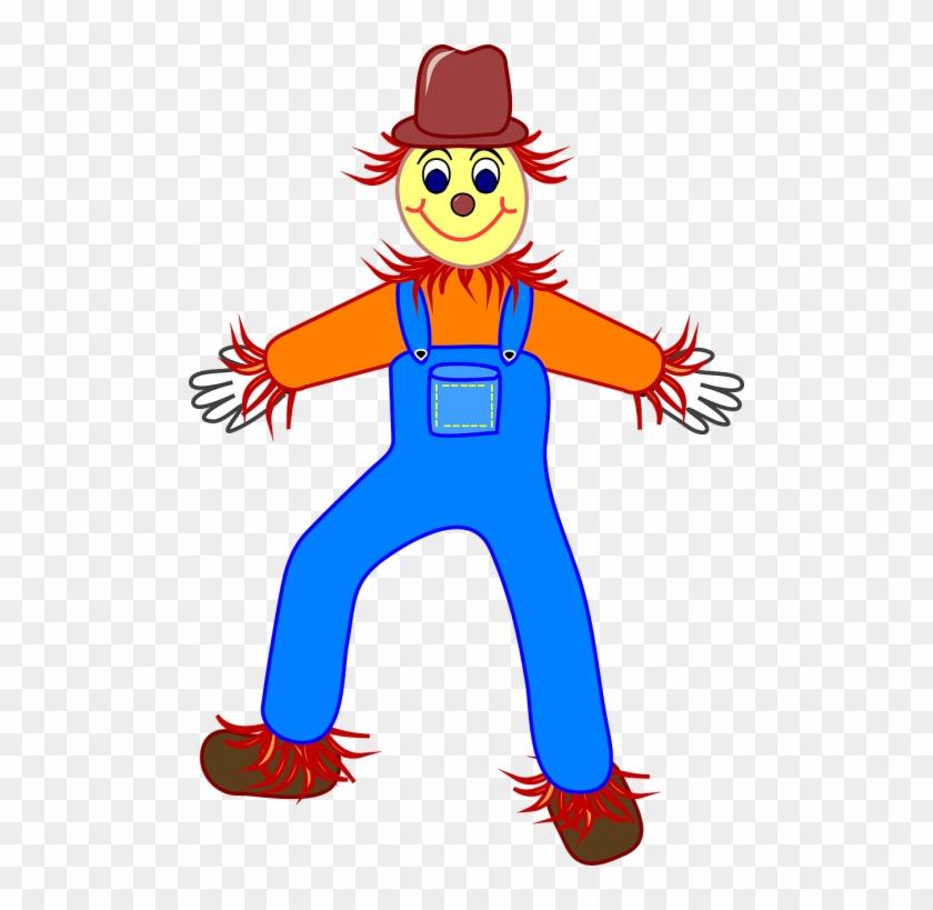Scarecrow Clipart #110062