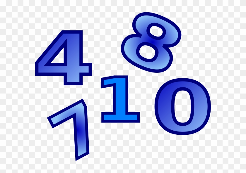 Numbers Clip Art At Clker - Guess My Number Year 2 #110454