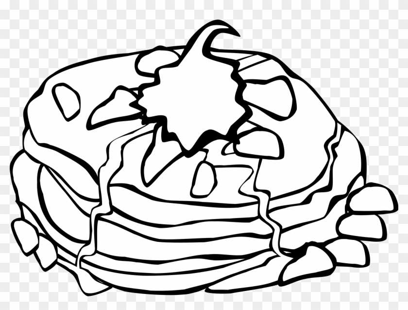 Breakfast Clipart Transparent Food - Breakfast Food Coloring Pages #110521