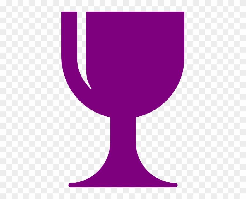 Purple Chalice Clip Art - Communion Chalice Clip Art #110611
