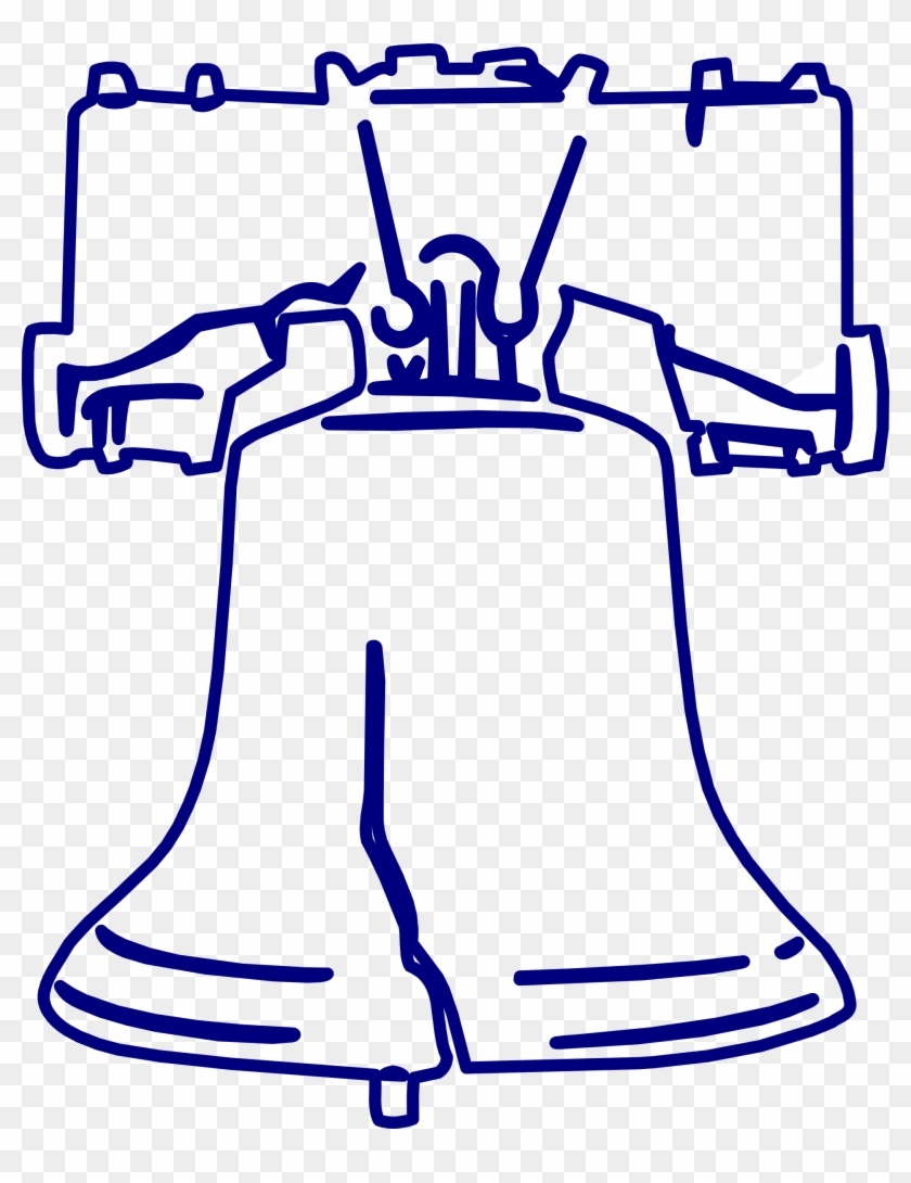 Other Popular Clip Arts - Liberty Bell Coloring Page #110739