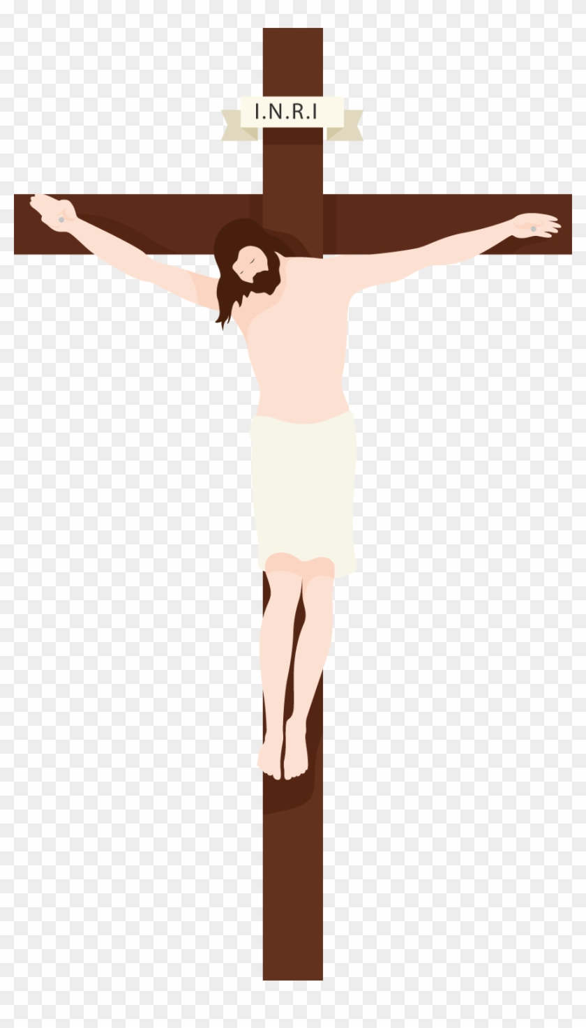 Jesus Chirist Clipart Png Image 01 1 - Jesus On Cross Png #110881