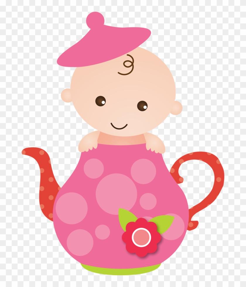 Bebê Rosa - Minus - Baby Girl Clipart #110909