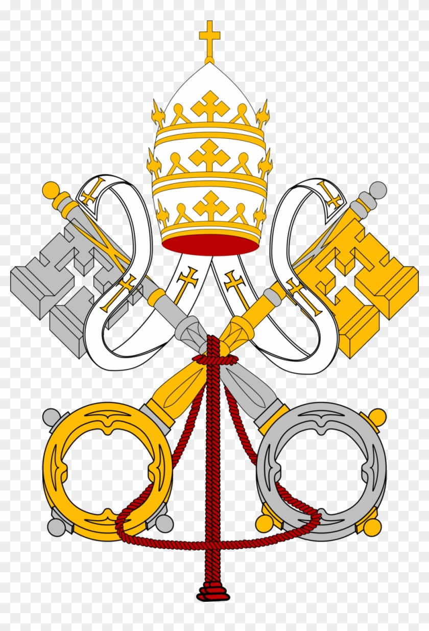 The Chatechism Of The Catholic Church St - Coats Of Arms Of The Holy See #111096