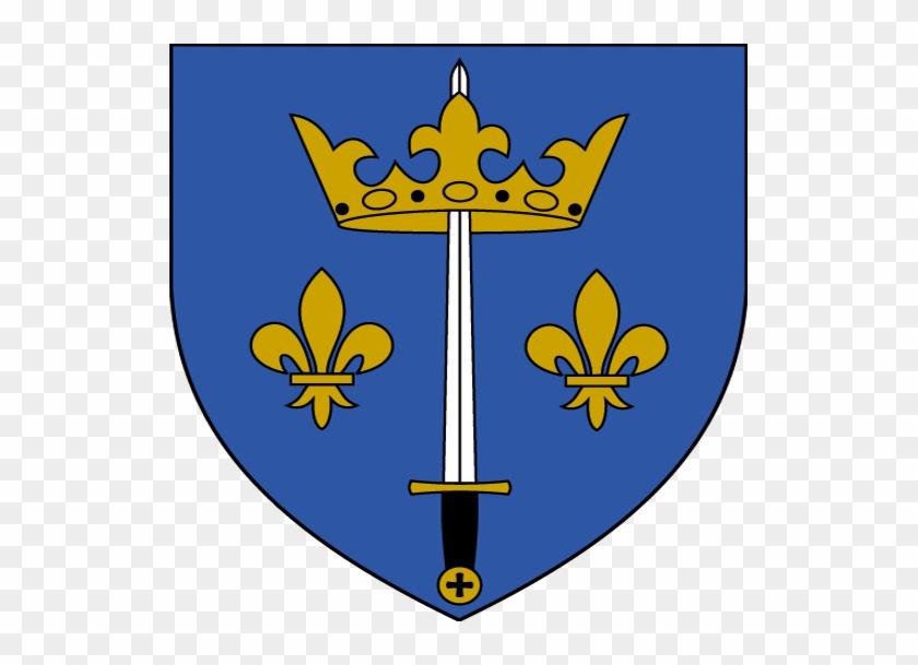 Joan Of Arc Catholic Church - Jeanne D Arc Coat Of Arms #111104