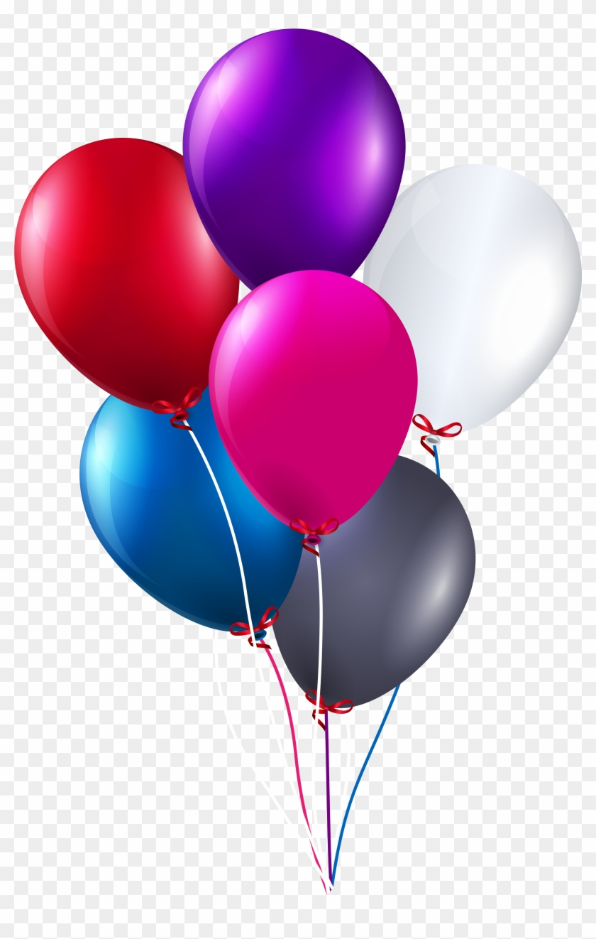 Balloon Clipart Balloon Bunch Happy Birthday Balloons