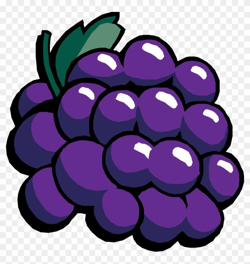 Green, Food, Fruit, Wine, Grapes, Cartoon, Purple - Grapes Clipart #111629