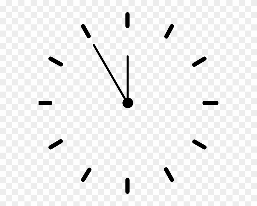 Analog Clock Without Numbers Free Transparent Png Clipart Images