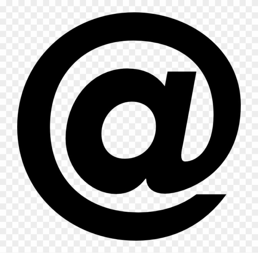 At Symbol Clip Art At Clker Com Vector Clip Art Online, - Symbol Clip Art #111763