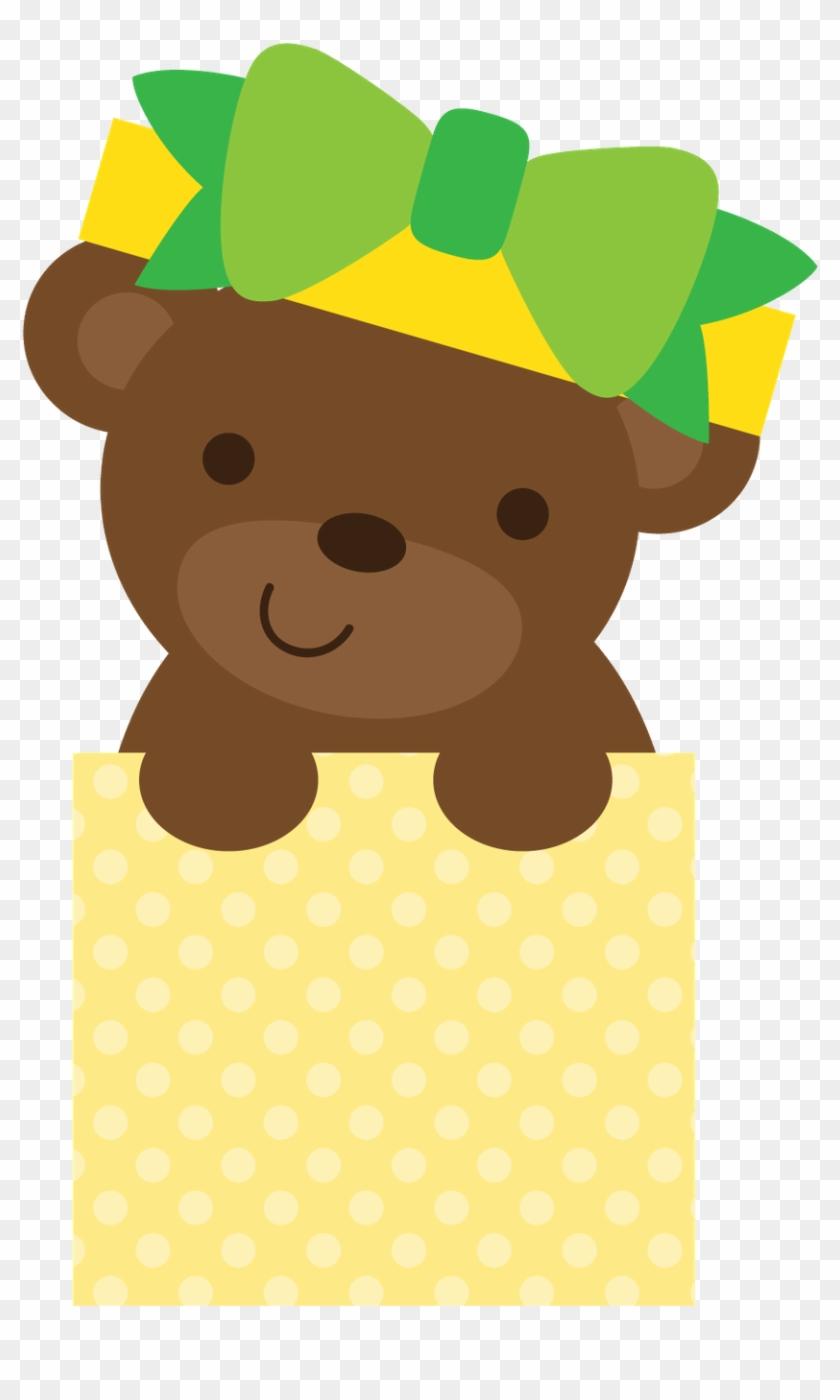 Ursinhos E Ursinhas - 2 Little Bears Clipart Printable #589575