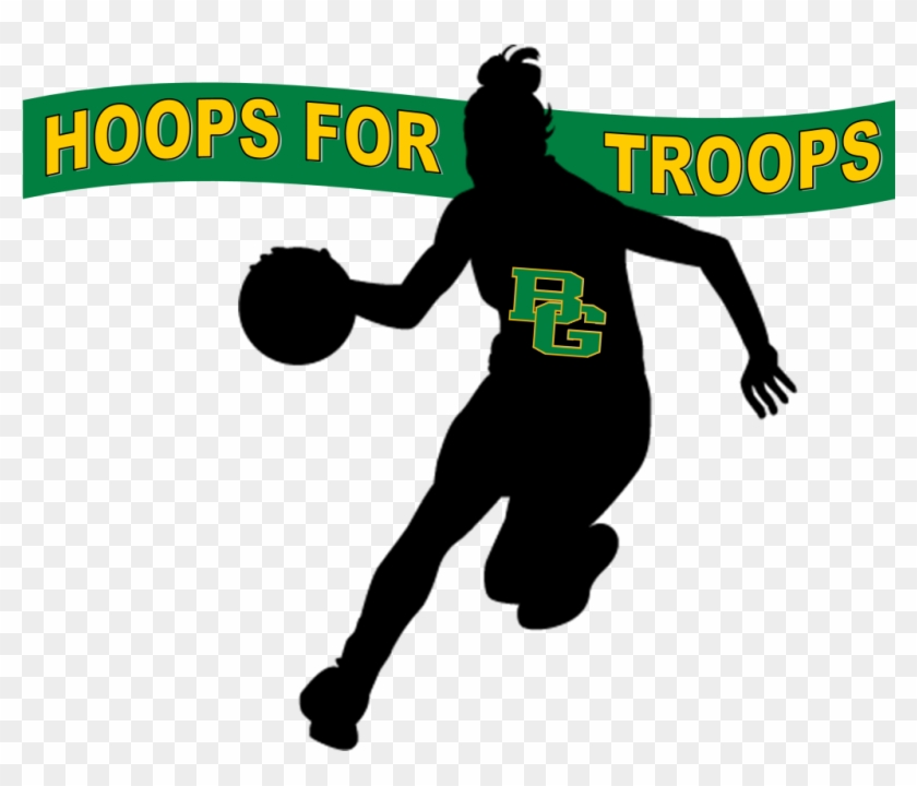 Bishop Guertin And Trinity High Schools Boys And Girls - Girl Basketball Player Silhouette #589971