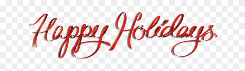 Welcome Feliratok - Google Keresés - Happy Holidays Text Png #590011