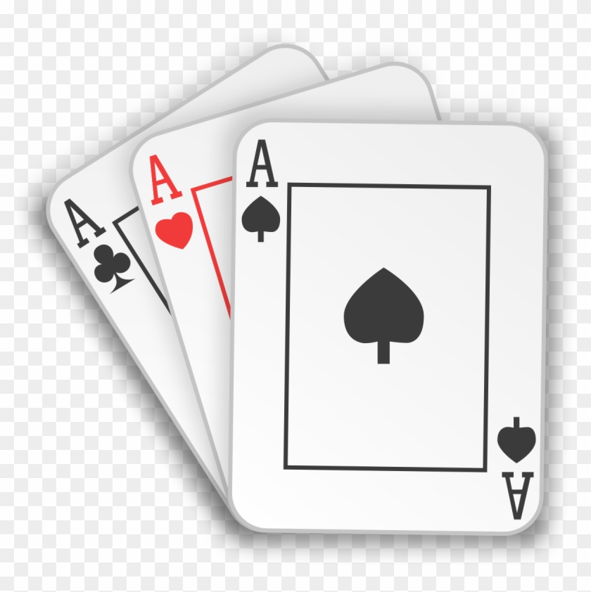 Card Game Svg - Three Card Poker Game Png #590183