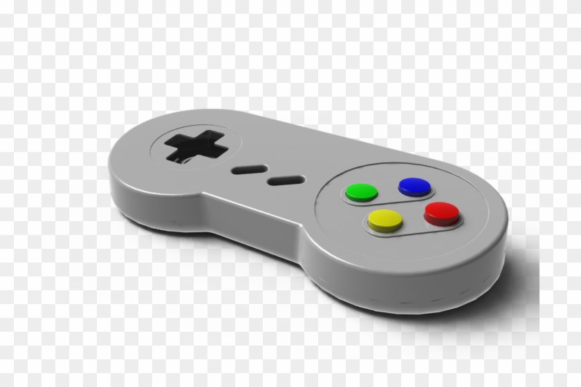 And Even Play Retro Games On Your Devices - Snes Controller 3d