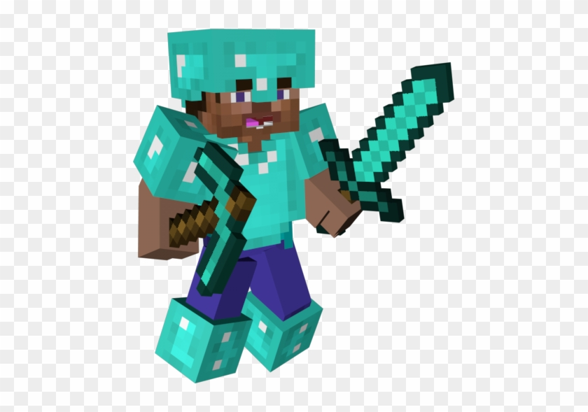 Minecraft 3d Character Png Steve Minecraft 3d Png Free