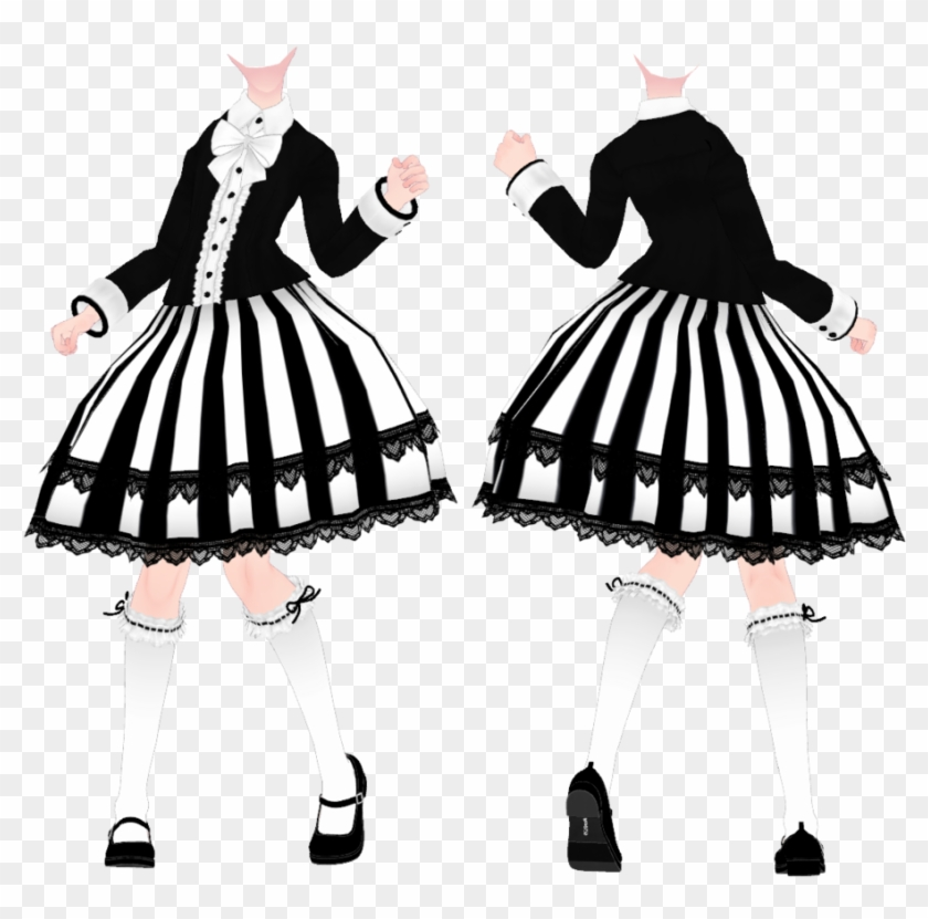 Mmd Tda Outfit Download By Moyonote Mmd Tda Dress Dl Free