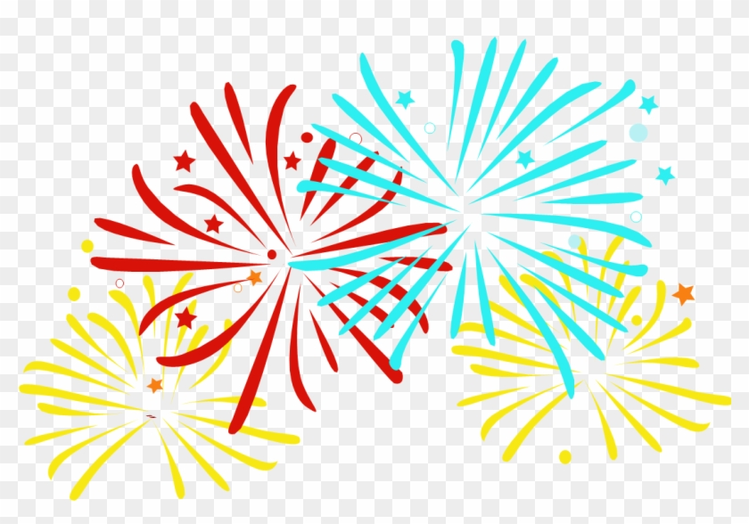 Choose Your Bands This Saturday Night - Fireworks Cartoon Transparent Background #591217