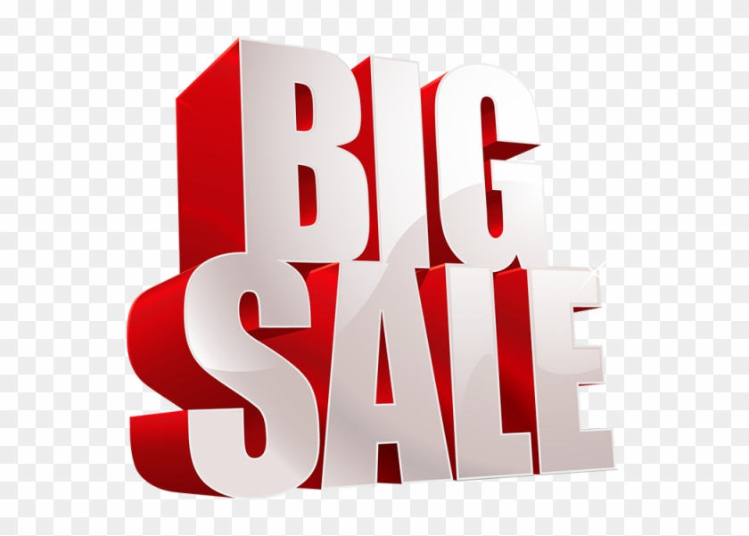 Big Sale Tag Png And Psd - Big Sale Tag Png #591966