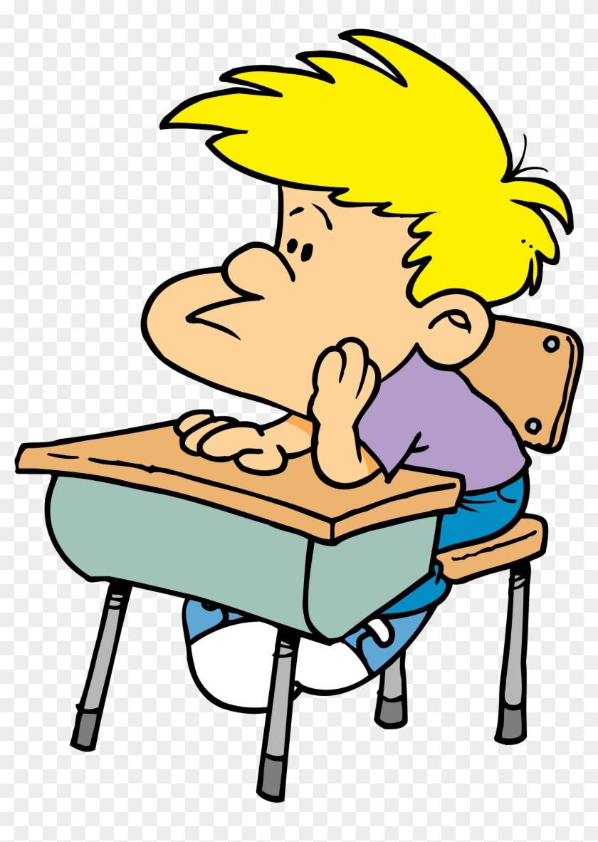 bored student sitting at desk clipart pay attention clip art rh clipartmax com Sit at Desk Clip Art Discovery Student Sitting at Desk Clip Art Black and White