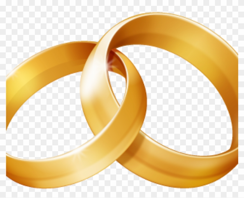 Wedding Ring Clipart Linked Wedding Rings Clipart Free - 2 Ring Clipart #592451