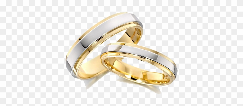 Wedding Ring Transparent Background - Wedding Ring Gold With White Gold #592494