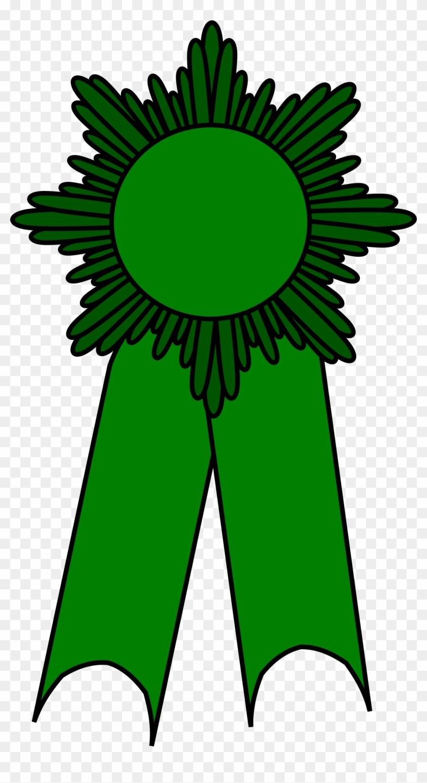 Prize Ribbon Green By Barnheartowl Prize Ribbon Green - Green Prize #592662