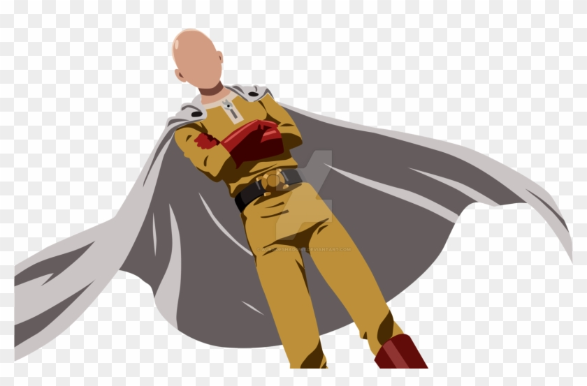 One Punch Man Clip Art One Punch Man Pose Free Transparent Png