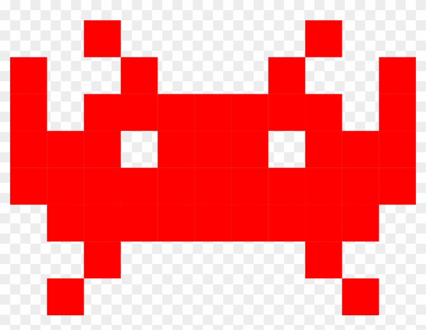 Space Invaders Clipart Pixel - Space Invaders Alien #593567