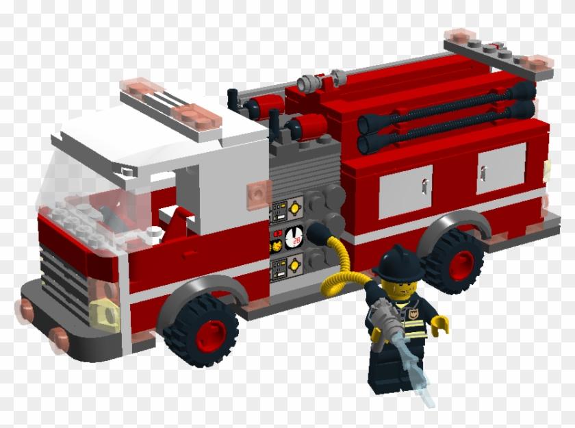 Build A Lego Fire Truck #593936