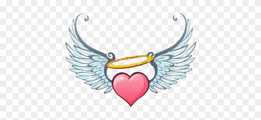 Hearts With Angel Wings #594180