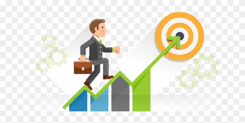 With The Aim Of Actively Expanding The Company Has - Business Goals Clipart #594239