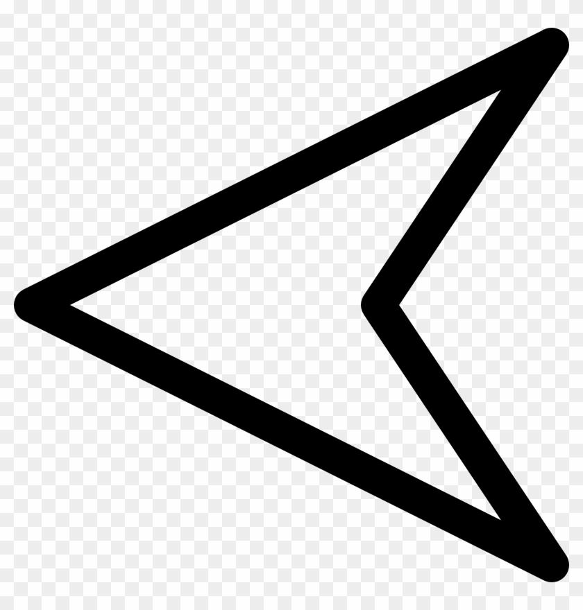 Similar Clip Art - North Arrow Pointing Left #594456
