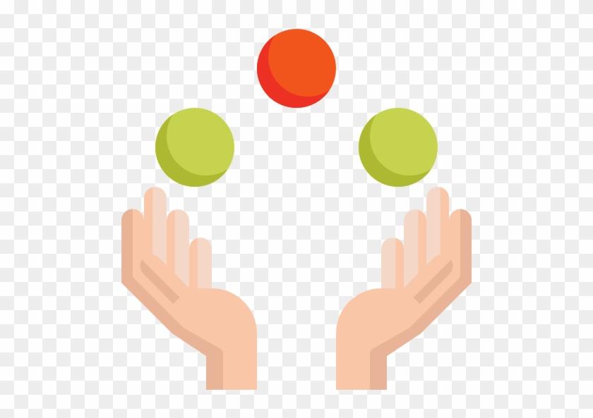 Juggling Ball Free Icon - Juggling Balls Png #595633