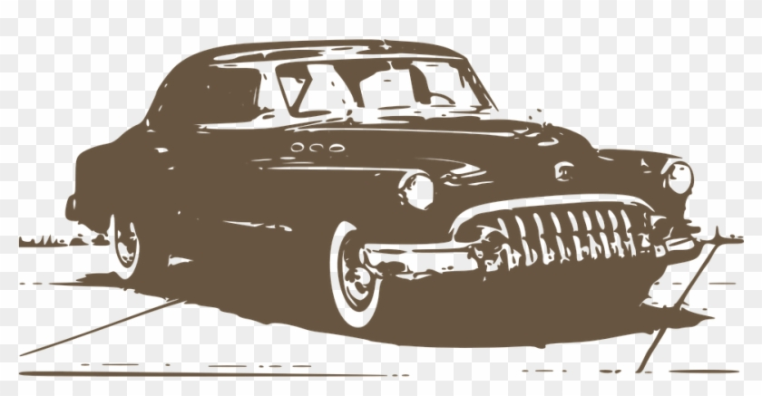 Classics Clipart Old Fashioned Car - Vintage Retro Png #596005