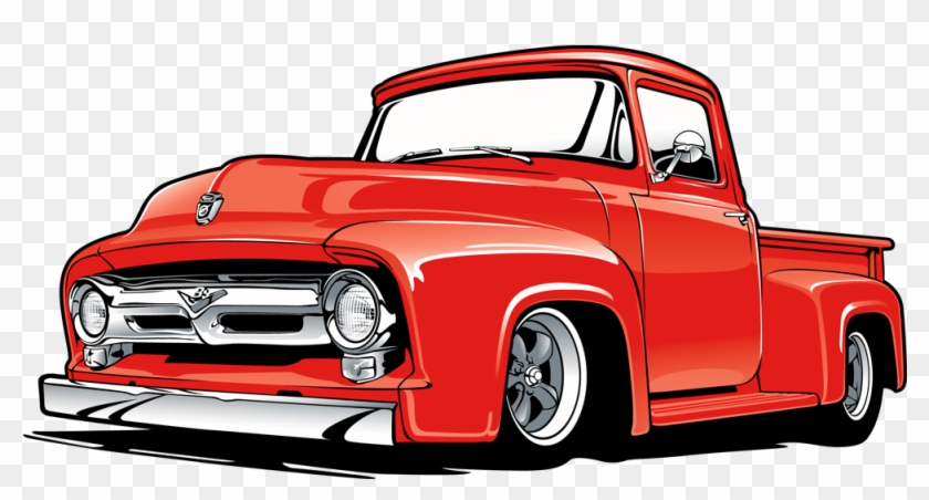 Ford Truck Vintage - Ford Truck Vector Art - Free ...
