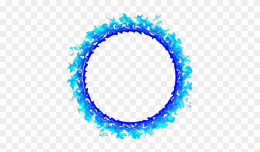 Blue Fire Ring-decal - Blue Ring Of Fire #596608