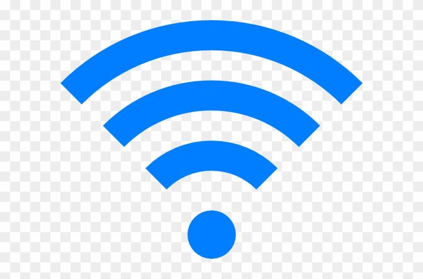 Blue Wifi Clip Art At Clker Com Vector Clip Art Online - Wifi Icon #597484