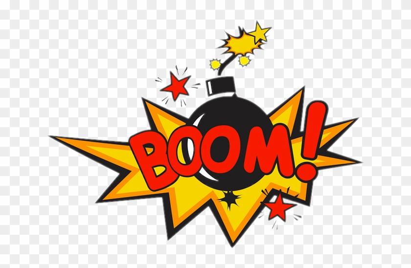 Boom Bang Pow Comics Speechbubble Bubble Emoji Letters - Comic Png #598027