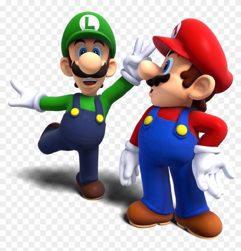 Kleurplaten Mario Vs Donkey Kong.Mario Clipart Mario And Luigi Mario And Luigi Png Free