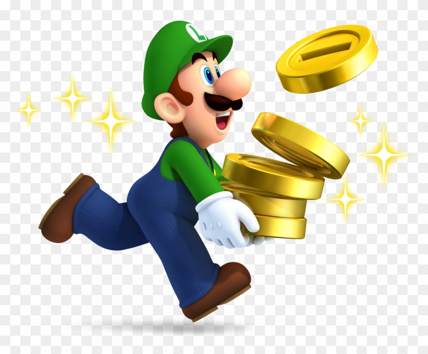 Mario Coin Png File - New Super Mario Brothers 2 (nintendo 3ds) #598275