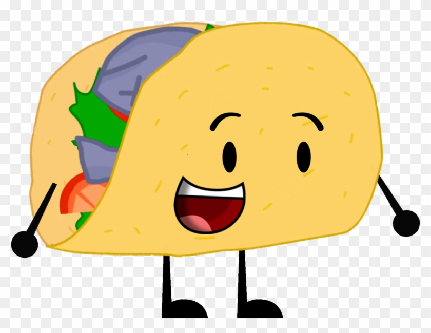 Bfdi Taco Pose 2 - Wikia - Free Transparent PNG Clipart