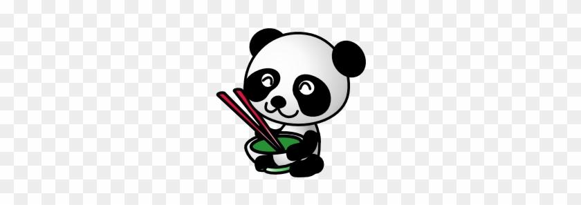 Panda Eating Chinese Food #599018