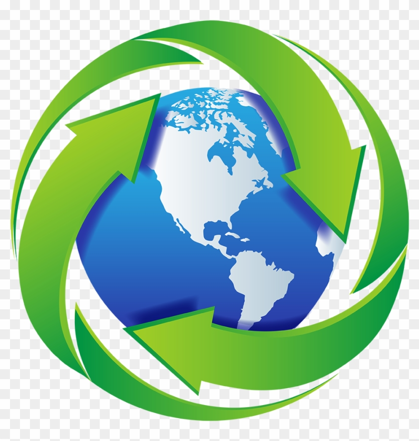 International Recycling Background News Earth Map Free