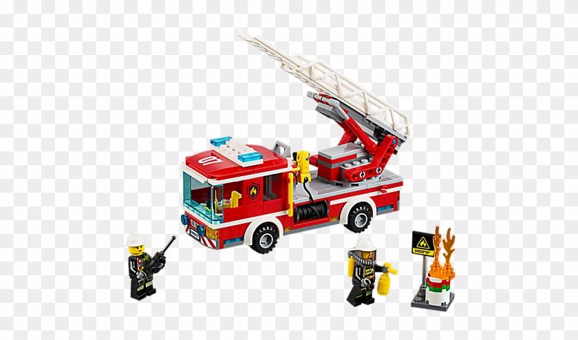 Lego Ladderwagen - Lego Fire Truck 60107 #601091