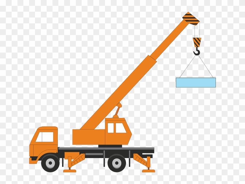 construction site crane, transportation, car, industry, - crane vector -  free transparent png clipart images download  clipartmax