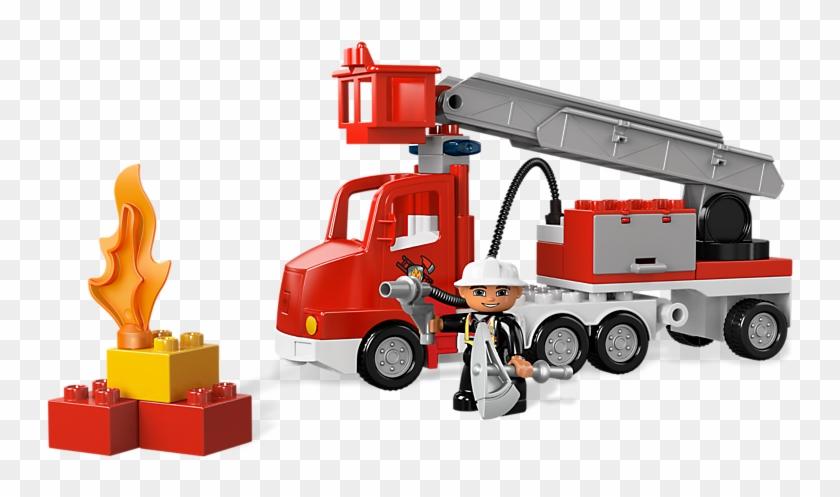 Fire Truck - Lego Duplo Fire Truck #601427