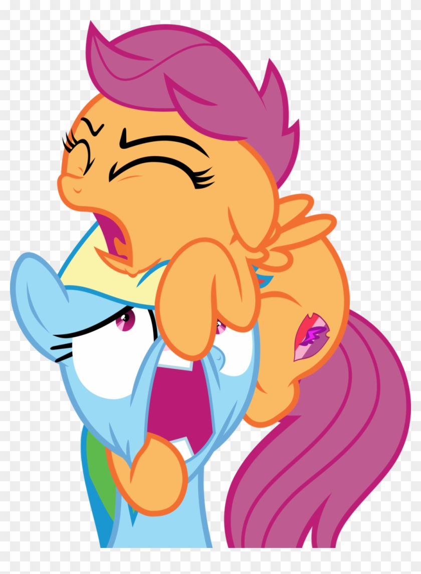 Mlp Vector Rainbow Dash And Scootaloo Free Transparent Png Clipart Images Download This generally makes it look more visually appealing and you'll be able to see the ends of. mlp vector rainbow dash and scootaloo
