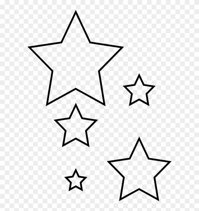 revolutionary star cutouts printable best photos of cut out star