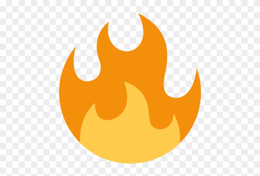 Fire, Flame, Tool, Light, Spark Icon - Twitter Fire Emoji Png #601847